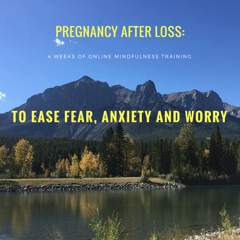 Pregnancy After Loss: 4 Week Online Mindfulness Training